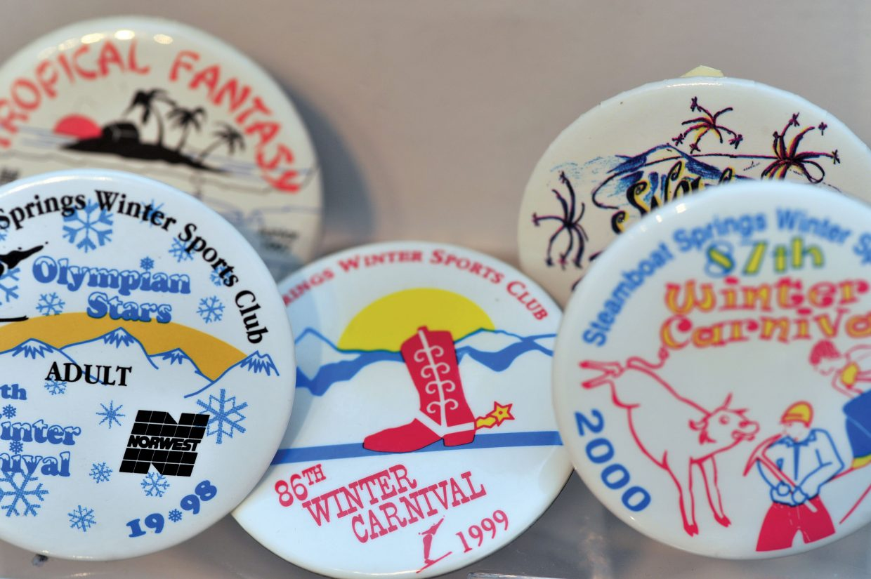 Winter Carnival 2013: History, one button at a time