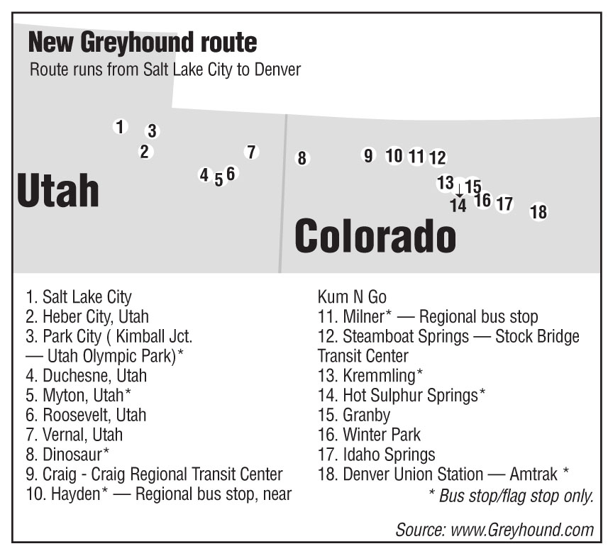 Greyhound returns to Steamboat Springs | SteamboatToday com
