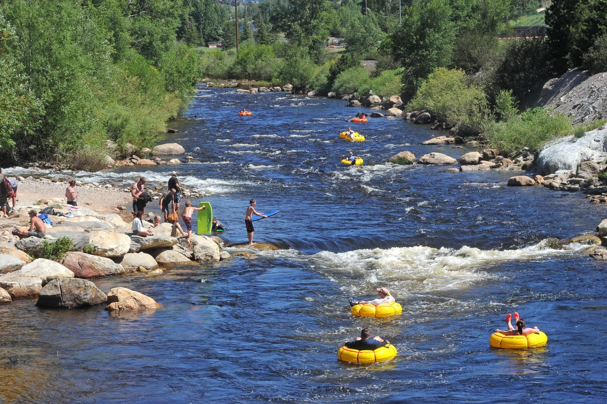 Enjoying the Yampa River this weekend? Consider giving back