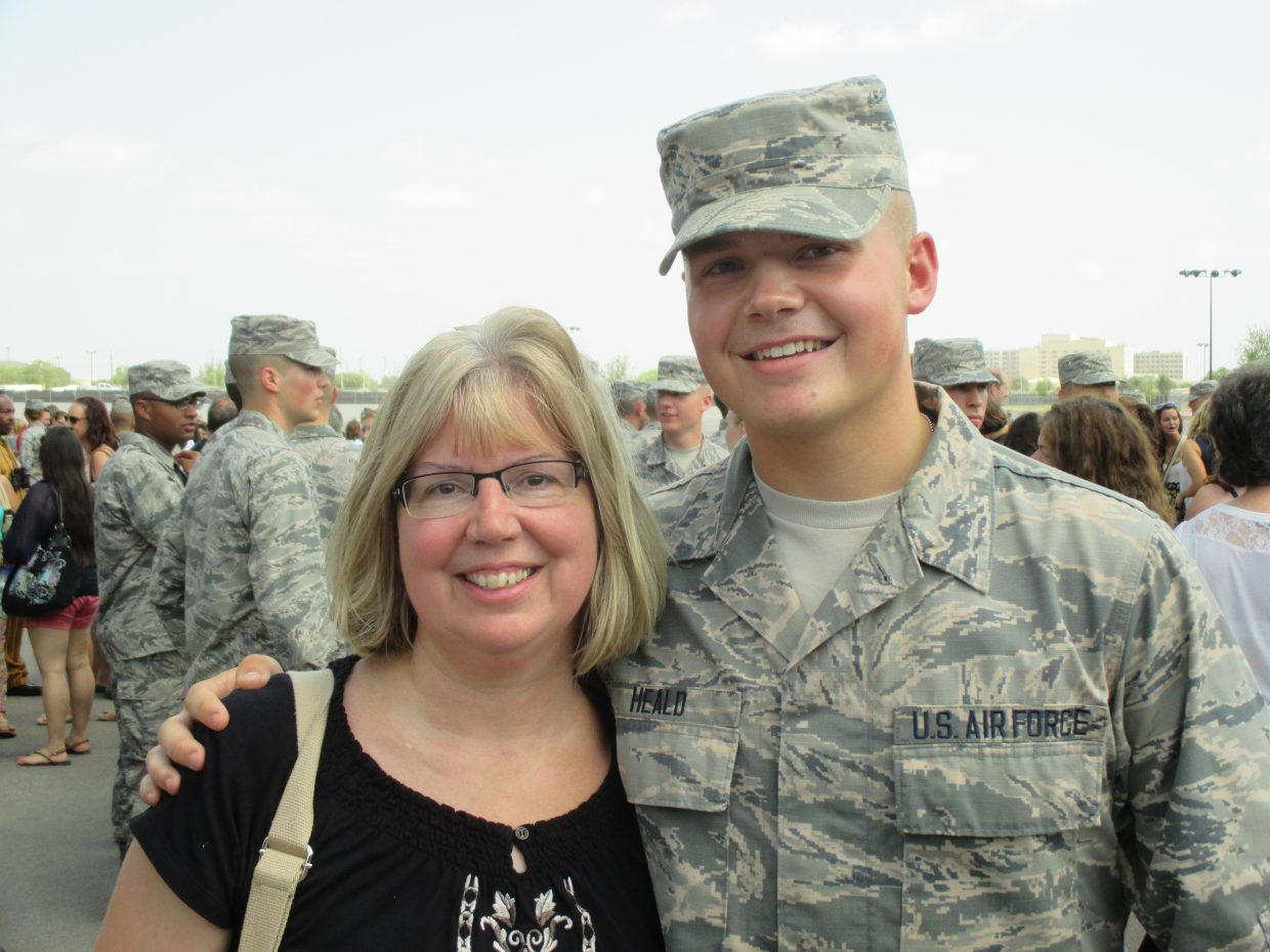 Letters from home meant the world to U S  Air Force airman