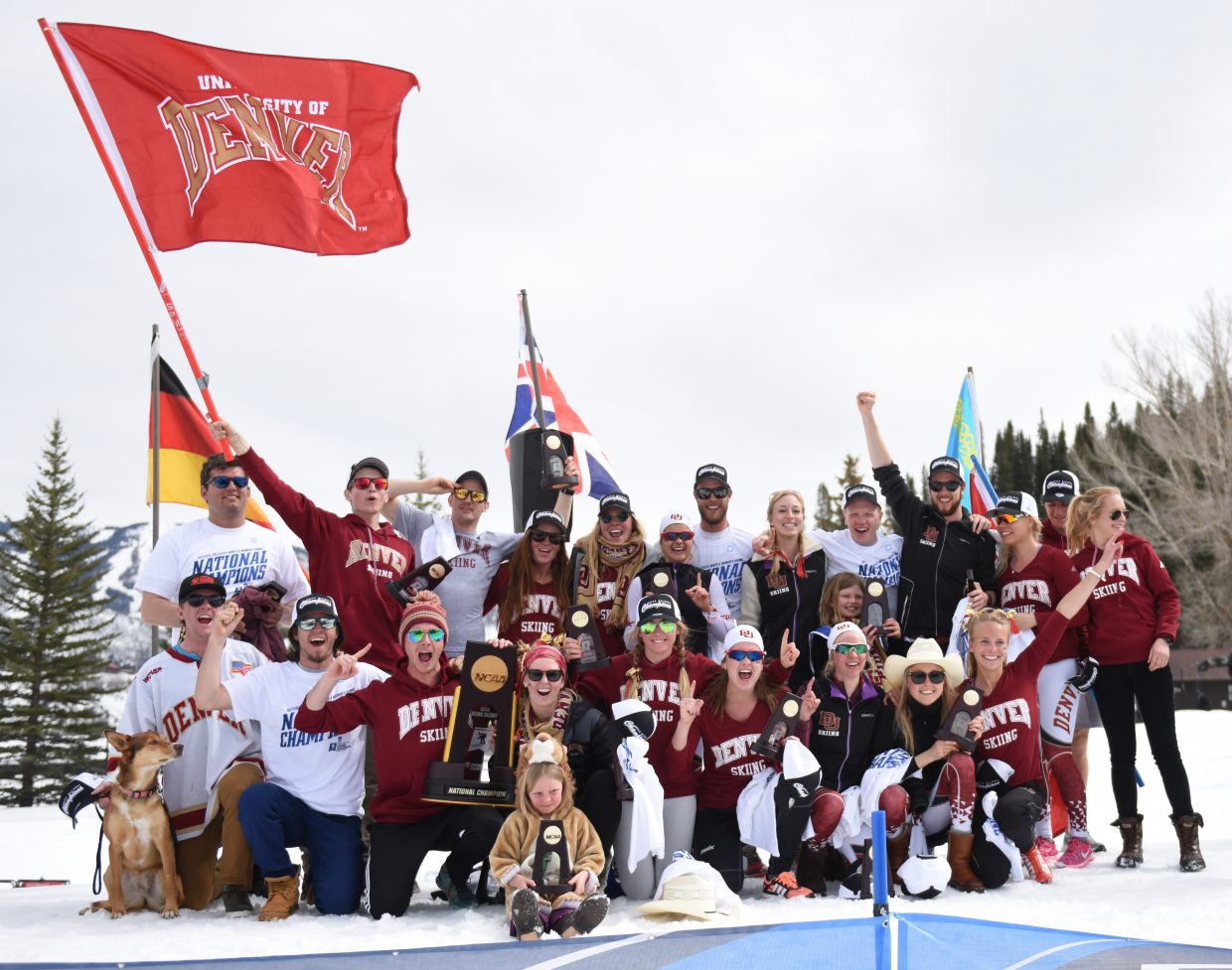 The University of Denver ski team won the NCAA Skiing Championship on Saturday, a record 23rd title for the program.