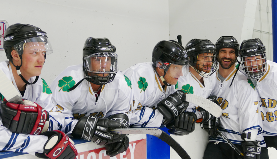 Members of the Mad Dogs adult A-league hockey team -- Watch the 2017-2018 Steamboat Wranglers take on the Adult League All-Stars at Howelsen Ice Arena this Saturday.