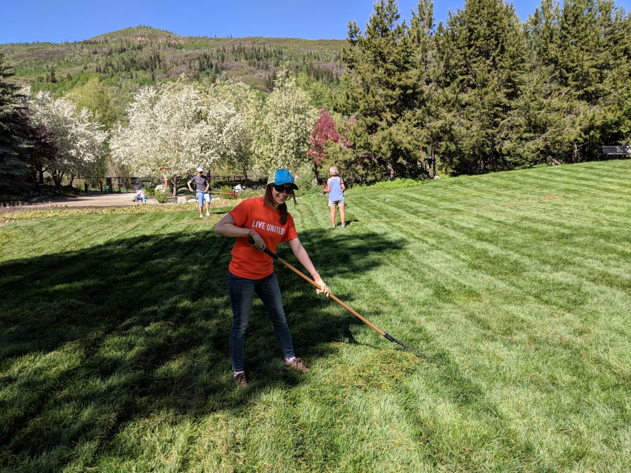 Volunteers across Routt County helped out to celebrate United Way's annual Day of Caring.