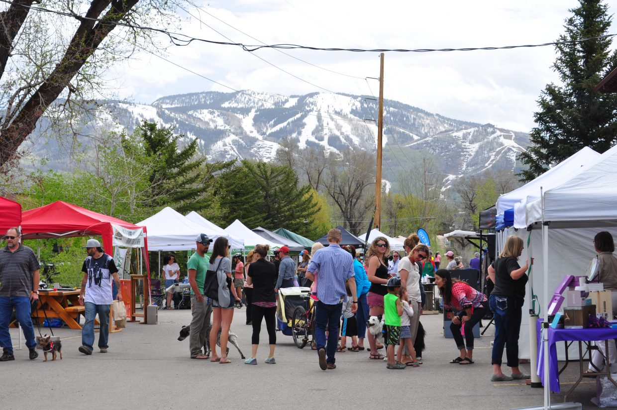 The Home & Garden Expo was held in Steamboat Springs on Saturday.