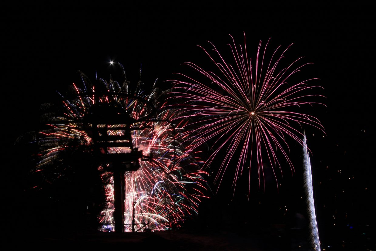 Going out with a bang: World-record firework attempt fails