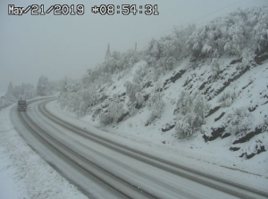 Snowstorm and rockslides cause I-70 closures, hazardous driving conditions in the Colorado Rockies