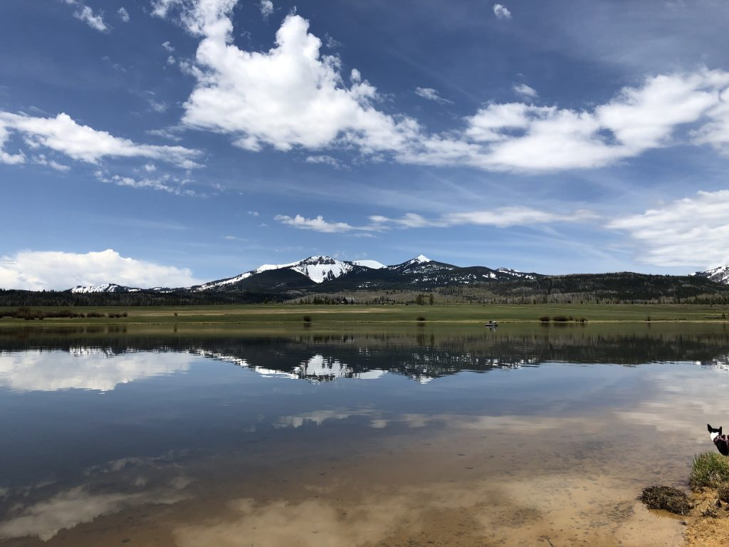 Steamboat Lake looks ready for summer adventures.