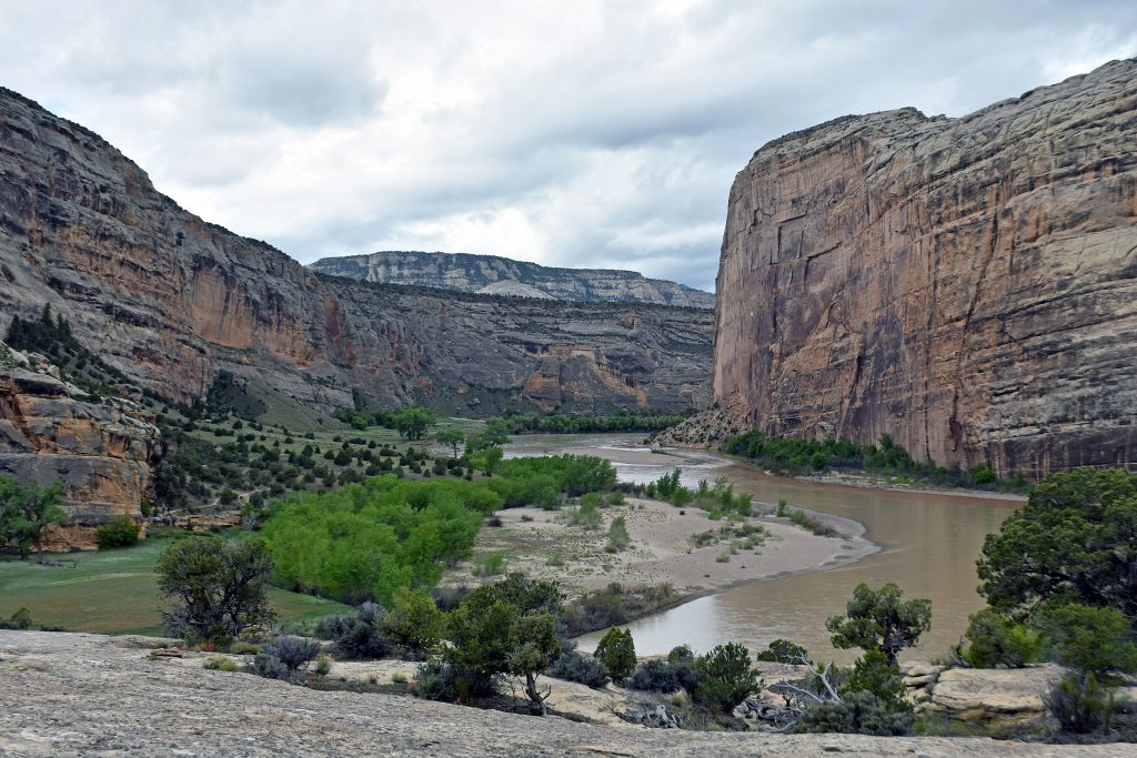 Floating in the wake of history: Echo Park in Dinosaur National Monument feels much like it did when Powell saw it