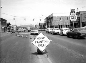 From the Pilot archives: At Lincoln and 8th in 1972 Steamboat