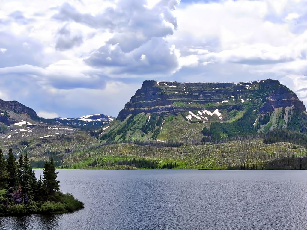 Trappers Lake, Flat Tops Wilderness Area.