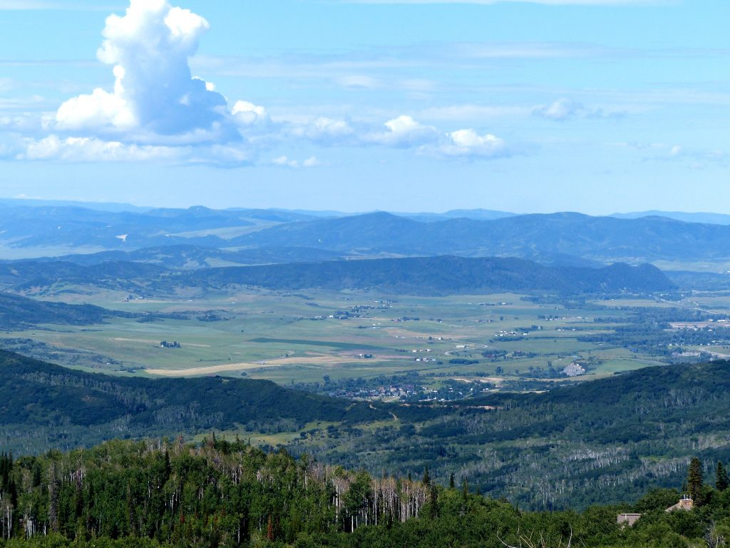 Panorama Trail on Buffalo Pass outside of Steamboat Springs