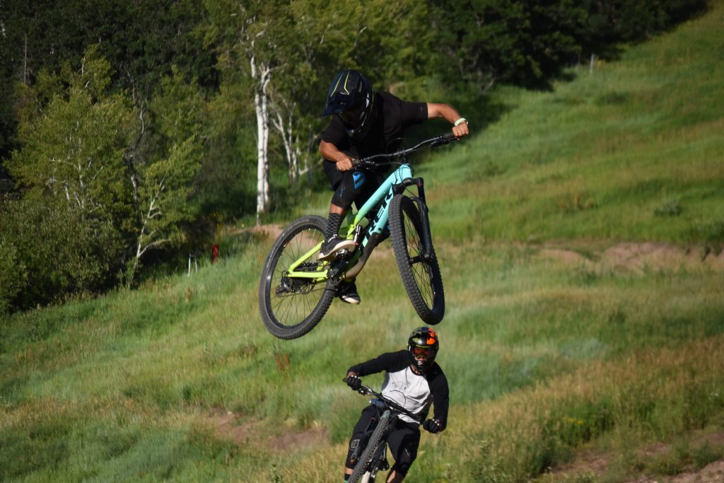 Catching air at the annual Steamboat Ski Area Whip Off