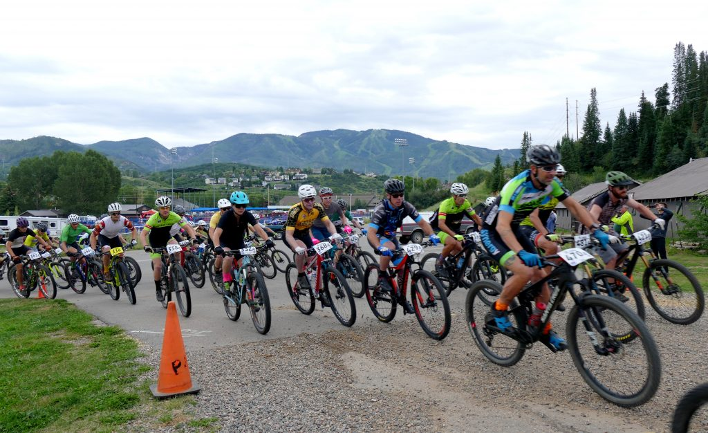 Steamboat Stinger Bike Race