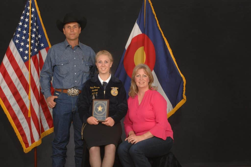 Teen rancher heads to National FFA Convention for rare honor