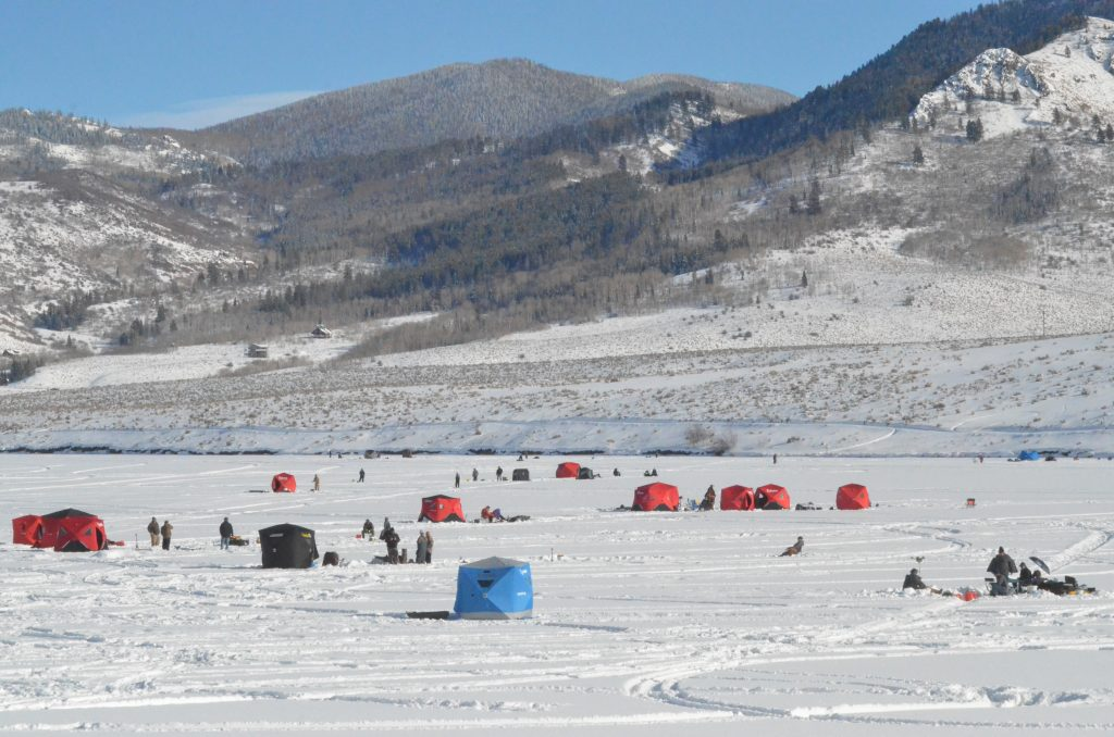 Record turnout, record fundraising at Stagecoach for ice fishing tournament